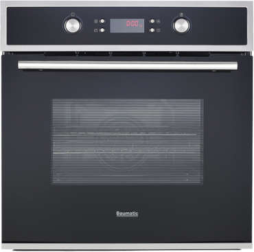 Front view of BOP660X Baumatic oven