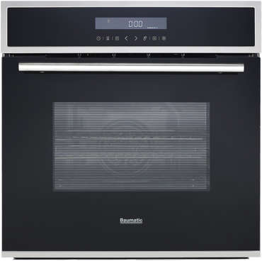 Front view of BOP680X Baumatic oven